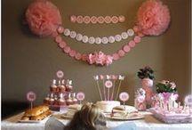 Actividades, decoraciones y fiestas