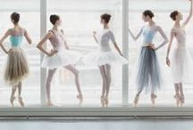 Ballerina / The beautiful dancers inspire me because I know what they go through behind the stage.