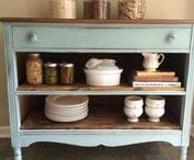 Furniture Makeovers / Taking furniture from drab to fab, with a bit of a Chalk Paint obsession too.  This is the place for learning techniques like glazing and aging, while keeping things as easy as possible!