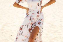 Rosa de verano / Vestidos largos y cómodos