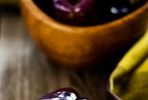 Púrpura / Verduras y fruta fresca