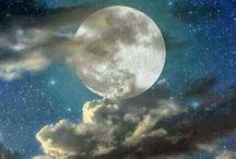 Cielo / Luna, sol y estrellas