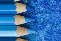 Azul / Negro con luz