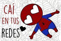 Superhéroes / Palabras bonitas