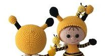 173 Crochet pattern Girl Doll in a Bumblebee outfit LittleOwlsHut / Your projects ETSY https://www.etsy.com/shop/LittleOwlsHut?ref=pr_faveshops&atr_uid=26006989&search_query=stelmakhova RAVELRY https://www.ravelry.com/bundles/dolls-in-different-outfits #littleowlshut #amigurumi #crochetpattern #crochetdoll