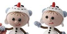 130 Crochet Pattern - Girl doll in a Snowman outfit / Your projects ETSY https://www.etsy.com/shop/LittleOwlsHut?ref=pr_faveshops&atr_uid=26006989&search_query=stelmakhova RAVELRY https://www.ravelry.com/bundles/dolls-in-different-outfits #littleowlshut #amigurumi #crochetpattern #crochetdoll