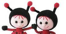 146 Crochet Pattern - Girl doll in a Ladybug outfit / Your projects ETSY https://www.etsy.com/shop/LittleOwlsHut?ref=pr_faveshops&atr_uid=26006989&search_query=stelmakhova RAVELRY https://www.ravelry.com/bundles/dolls-in-different-outfits #littleowlshut #amigurumi #crochetpattern #crochetdoll