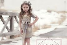 Fashion for Our Girls / It's tough keeping up with all the styles that little girls need. So we'll just post pictures of how others are doing it!
