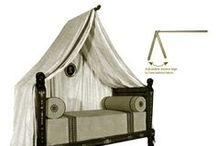 Historic Beds / Beds inspired from famous figures in history.  Jackie Kennedy's hardware available!