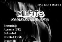 Milfits 'zine issue#1 / Bands interviewed