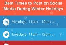 Social Media Tips & Tricks / Facebook. Twitter. Pinterest. Google+. StumbleUpon. LinkedIn. Instagram. Klout. Graphics. Infographics. Whew!