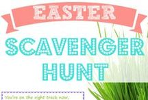 Easter Eggstravaganza / All things Easter - recipes, games, egg tips, spiritual inspiration and more!
