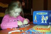 Homeschooling, Learning, Lessons & More / Whether you're homeschooling or just want to give your kids a boost in the learning department at home, check out some of these great ideas.