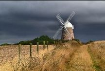 [Harnessing the wind] / When the winds of change blow, some people build walls and others build windmills.  ~Chinese proverb~ / by Anne Comer