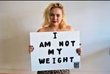 I Am Not My Weight  / Columbia University students strike a pose for body positivity!