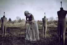 Nicolas Bruno ♦ Conceptual Photography / Conceptual photographer Nicolas Bruno has suffered from sleep paralysis since he was 15. In confronting the visions, and feelings of fear and helplessness, that can accompany this phenomenon, Bruno has discovered that transposing the notes from his sleep-paralysis journal to his photoshoots provides him a powerful therapeutic outlet.