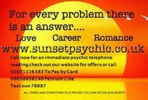 Psychic phone readings / professional phone readings with professional psychics and clairvoyants