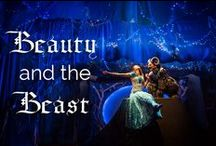 Beauty and The Beast / Tellings, re-tellings and adaptations of the classic fairy tale, not including the Disney version.  http://www.synetictheater.org/event_pages/beauty-beast/