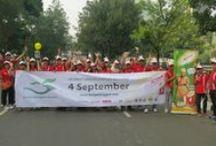 HarPelNas / Menyambut Hari Pelanggan Nasional 4 September, UP turut serta didalam penyelenggaraan Harpelnas seperti Parade / by BIOACTIVA JAMU TETES