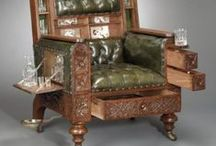 ROCKING CHAIR/CHAIR / Timeless stand alone elegance......or comfy/fun/quirky