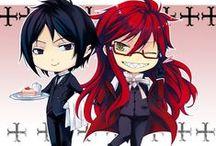 Kuroshitsuji/Black Butler / The best anime ever.