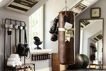 Jumppanavetta / Oma pieni kuntohuone ehkä joskus vanhassa hevospilttuussa