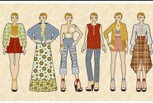 MY WORK | Fashion design and illustration / Picks of my work as senior fashion designer and amateur illustrator: moodboards, technical and artistic designs, artwork.
