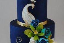 CAKES ,, Peacock Elegance