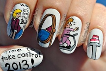 Nail Art: General / Oh. I am waaaay too addicted to this. Out. Of. Control. (I'm in the process of organizing my NA boards. Bear with me.) / by Christina