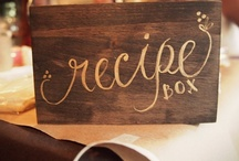 Recipe Boxes and Cards / I need to get some of my recipes organized, some way, some how.