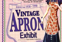 Apron Love!  / Aprons for all occassions! Mostly, just because! Aprons to buy. Patterns to make aprons.