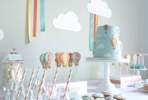Inspiration for celebrations / Celebration and party ideas from decorations to recipes, inv itations and party tricks!