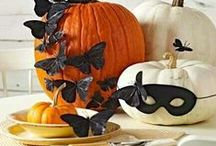 Inspiration for Halloween / DIY, decoration and fun crafts for Halloween