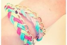 DIY Jewelry / Bracelets, necklaces and rings all handmade and easy to do! Take a look at our ideas for great DIY jewelry projects for yourself, or for others as the perfect gift.