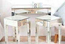 Zoe Mirrored Furniture Range