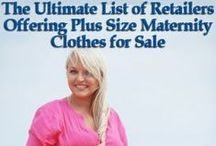 Plus Size Maternity Clothes / Plus size maternity clothes that is stylish and if possible inexpensive