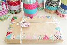 Washi Tape Ideas / Get creative with washi tape! Tons of home decor ideas, crafts, life hacks... with washi tape.