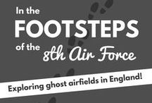 Footsteps of the 8th Air Force / The English countryside is littered with ruins and clues to the 8th Air Force and the 'friendly invasion' during World War II. Old air raid shelters, living quarters, aircraft hangers and even a few painted murals can be explored, if you know where to look. Most sites of interest are on private property so get permission before venturing out.