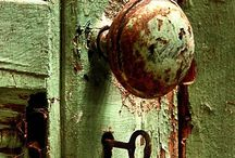 Doors, knockers, and knobs. / Front porch, back door, locks, knobs & keys! All things door related.