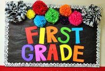 First Grade Classroom / First Grade / by Angela Hymas