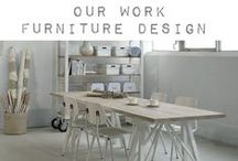 ••• FURNITURE DESIGN ••• / • Own work • Furniture to your own design. Divers custom interiors - assignments & furniture for immediate sale. • We are working on several interior assignments for Individuals, restaurants, offices and Institutions.