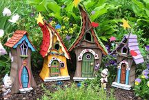 Fairy Houses and Gardens / DIY garden miniatures for Fairies and gnomes.