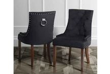 Torino Scoop Back Dining Chairs / http://www.my-furniture.co.uk/chairs/upholstered/torino-range/