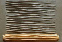 Texturas e carimbos