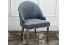 Kariss Upholstered Chairs / http://www.my-furniture.co.uk/chairs/upholstered/kariss/
