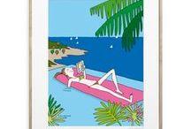 Collection SOLEDAD / Découvrez les créations de Soledad : Illustratrice et auteur pour les tout petits et les grands. Soledad dessine la vie, la vraie. Decouvrir la collection :http://image-republic.com/fr/18-soledad