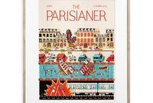 Collection The Parisianer / Découvrez les créations des talentueux illustrateurs de The Parisianer, le magazine imaginaire qui rend hommage aux Unes de The New Yorker. Découvrir la collection : http://image-republic.com/fr/15-the-parisianer