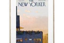 Collection The NEW YORKER / Découvrez les Unes du célebre magazine The New Yorker, illustratés par de talenteux artistes : Sempé, Steinberg, Floch, Getz, Ulriksen Toyosan ...  Découvrir la collection : http://image-republic.com/fr/31-the-new-yorker