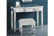 Leonore mirrored furniture / http://www.my-furniture.co.uk/mirrored-furniture/leonore-range/