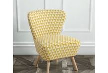 Delilah Retro Occasional Chairs